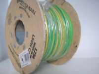 16mm green and yellow earth cable