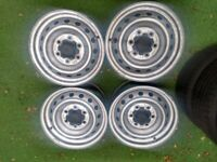 16 inch New Ford Ranger Steel wheels with New Ford Caps in West London Area