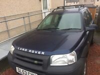 Land Rover freelander td4 2003 (53 plate ) £1850 ono, may swap for Motocross bike worth similar
