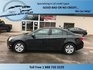 2014 Chevrolet Cruze LT, CRUISE, AC, SUNROOF,HANDSFREE,MY LINK..