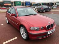 BMW 3 Series 318 TI SE compact 2.0 petrol 51 plate