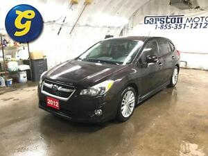 2012 Subaru Impreza 2.0L LIMITED*CVT*AWD*LEATHER*SUNROOF*ALLOY W