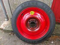 * * * Ford 15 inch Spare wheel, Pireli space saver, focus mondeo Spare Tyre * * *