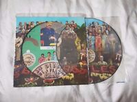 The Beatles-Sgt Pepper's Lonely Hearts Club Band. Picture Disc with cut outs