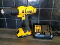 DeWALT DCD776 COMBI DRILL, 18V, XR, Li-ion +2ah battery + Rapid charger .