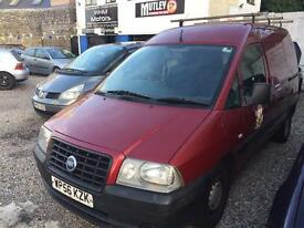 FIAT SCUDO 1.9 DIESEL Good all rounder twin s doors Mot Feb 2017 around roof bars