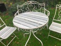 Bistro garden set