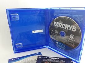 Far Cry 5 in excellent condition