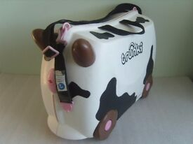 Trunki Frieda The Cow Childs Ride On Cabin Suitcase