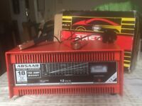 Absaar Car Battery Charger with engine start facility.