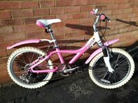 Girls Giant Taffy 20in wheel bike.
