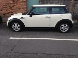 Mini One. 57 plate ( low miles )