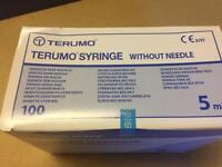 Terumo 5ml syringe (200)