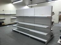 Retail Shelving Bays & Racks