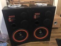 Loud passive speakers