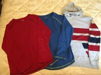 2 Gap Kids T Shirts and 1 Hoodie age 10-11, 12