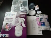 Avent natural manual breast pump+