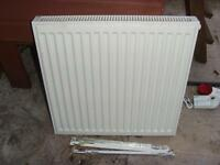Central Heating Radiator - nearly new 24 x 24 inch