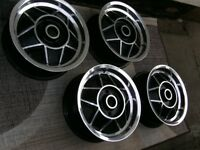 triumph stag polished alloys set of 4 mint