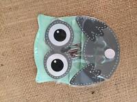 Nail set owl pouch brand new