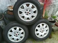 """ROVER 75 SPARE WHEELS AND TYRES 15"""""""