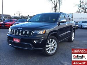 2017 Jeep Grand Cherokee LIMITED**LEATHER**SUNROOF**NAVIGATION**