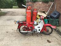 Honda c50 barn find