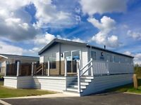 CHEAP LUXURY EX-DEMO (LODGE) STATIC CARAVAN FOR SALE ON EAST COAST PARK WITH FINANCE AVAILABLE