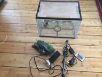 Aquarium fish tank starter set