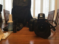JUST REDUCED - Sony A200 DSLR plus accessories