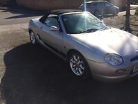 Mg mgf sport 2001 New mot 12 month , low millage