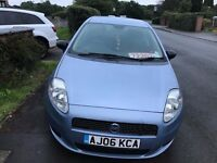 Fiat GRANDE PUNTO 1.2 5 DOOR 2006 £995 FIRST TIME PASS OR BUYER CHEAP ON INSURNECE