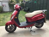 Sym Fiddle 2 50 cc Moped 65 plate