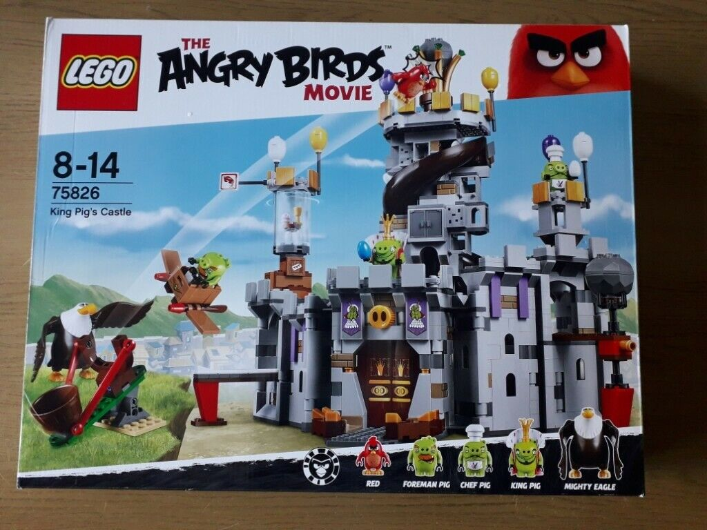 Lego Angry Birds King Pigs Castle 75826 In Comiston Edinburgh