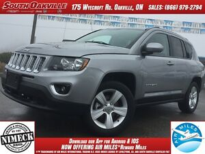 2016 Jeep Compass High Altitude | 4X4 | HEATED LEATHER | SIRIUSX
