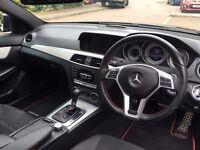 Mercedes-Benz C Class C220 CDI AMG Sport PLUS 2dr Auto SAT NAV 2.2