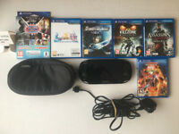 Sony PS Vita console and Game Bundle