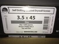 Zinc self tapping drywall fixings