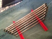 SNAP-ON 7 PIECE SET OF METRIC EXTRA LONG OFF-SET BOX SPANNERS XDHM