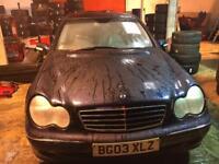 mercedec c180 for sale 800£