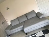 French connection 4 seater sofa