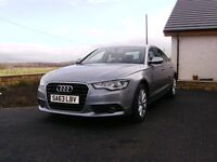 Audi A6 Saloon SE TDi (manual) 1 previous owner in showroom condition