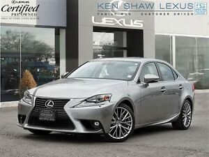 2015 Lexus IS 250 ** Navigation ** Only 14500 km **