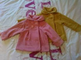 Two next children's coats