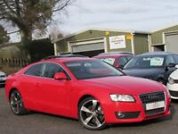 """2009 AUDI A5 2.0 TDI SPORT COUPE 170BHP 2 OWNERS 89k 19"""" ALLOYS FULL SERVICE HISTORY IMMACULATE"""