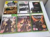 Xbox 360 elite +9 games and 2 controllers