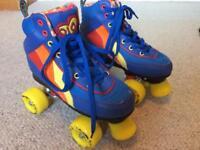 Rio Roller Skates - retro design; size 2