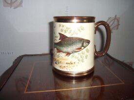 Vintage Gibsons Fish Mug Stafforshire England
