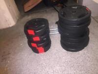 Weights set £35
