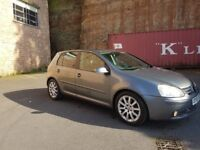 SPARE OR REPAIR VW GOLF 5 2.0 GT TDI YEAR 2005 STILL DRIVING!!!!!